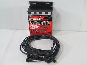 Msd 5564 Plug Wire Kit street Fire Spark Plug Wires Sb Chev under Header Non hei