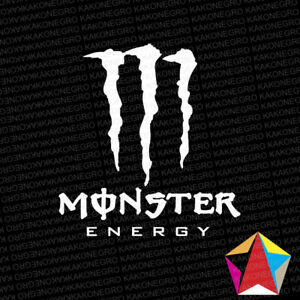 Monster Energy Drink Vinyl Decal Drift Car Truck Laptop Sticker Many Colors
