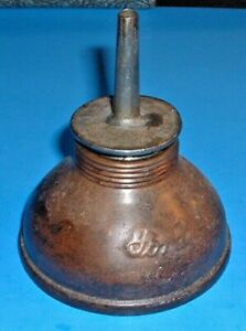 Vintage Ford Push Type Oil Can