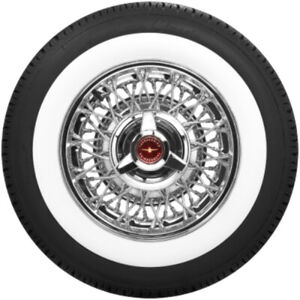 Coker American Classic 2 3 8 Wide White Wall Radial Tire P205 75r14