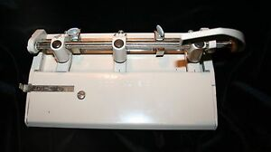 Vtg Foothill 310 3 hole Punch Industrial Grade Euc Works Smoothly