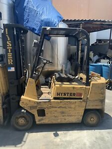 Hyster S50xl 5 000 Lbs Propane Forklift