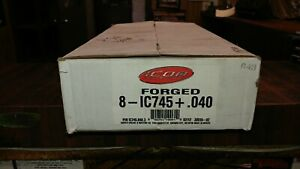 Small Block Dodge 360 Icon Forged Pistons Ic745 040