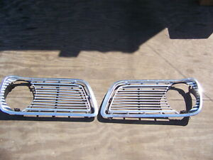 1966 Plymouth Valiant Grill Oem 2 Pcs