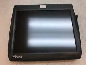 Micros Workstation 5a 400814 122 Touchscreen Posready 2009 Terminal Fair Cond