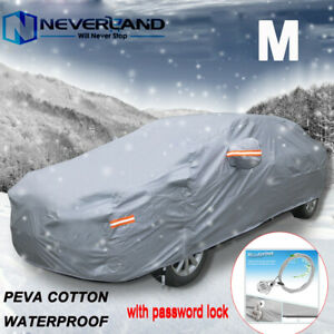 Full Car Cover Waterproof Breathable Outdoor All Weather Auto Dust Uv Protection