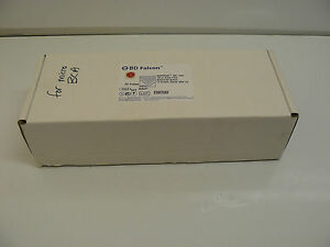 Bd Falcon 353221 Microtest 384 Well 120 Ul Assay Plate Black clear Bottom New