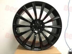 18x8 5 Mercedes Benz Black Turbine Amg Style Rims Wheels For Cla Class Cla250