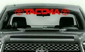 Vinyl Decals Toyota Tacoma Stickers Window Windshield Graphics Trd Off Road