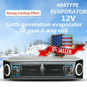 12v A C Car Air Underdash Evaporator Compressor Kit Under Dash Cooling Us