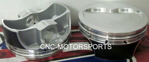 Sbc 434 Srp Pro Forged Pistons 16cc Dish 4 155 Bore With Rings 4 000 X 6 000