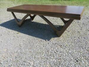 Mid Century Modern Danish Modern Kagan Style Coffee Table Great Form