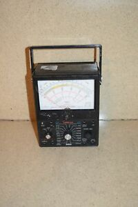 ss Simpson 260 Analog Multimeter 6xlpm 3a