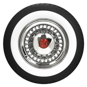 P215 70r15 Bfgoodrich Radial 2 1 2 Whitewall Tire Coker 579760