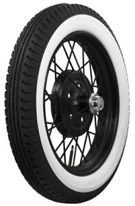 Coker 440 450 21 Bfgoodrich 2 1 2 Inch Whitewall Bias Tires ford Model A Etc