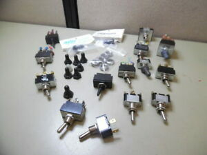Carling Cole Hersee Toggle Switch 2 3 Position Lot Of 14