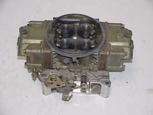 Holley Hp 830 Cfm Annular Boosters Racing Carburetor Nascar Imca Ump Wissota A4