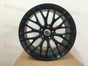 19 A1 Black Style Staggered Wheels Rims Fits Bmw 3 Series 323ci 323 328 335