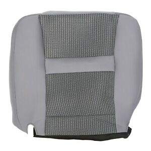 For 2006 2007 2008 2009 2010 Dodge Ram 2500 Driver Bottom Gray Cloth Seat Cover