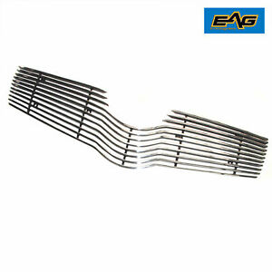 Eag Fits 2006 2008 Toyota Yaris Chrome Aluminum Grille Insert Grill