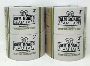 Ram Board 3 in X 164 ft Tan Packing Tape lot Of 4