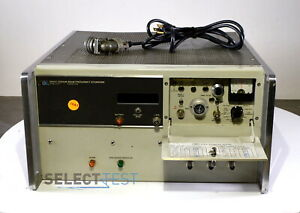 Agilent Hp 5061a Cesium Beam Frequency Standard 1 Mhz 5 Mhz 100 Khz W cable