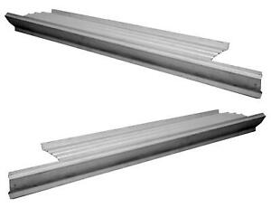 56 71 Dodge D Series Pickup Truck Rocker Panel With Step Plate Pair