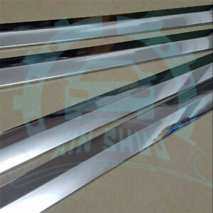 For Toyota Fortuner 2016 18 Side Door Body Trim Molding Cover Stainless Steel Aa
