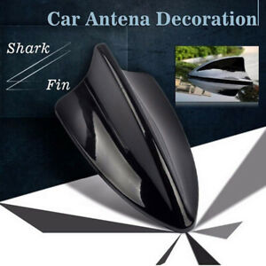 Hot Car Auto Black Dummy Shark Fin Roof Aerial Decorative Antenna Universal