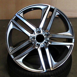 Sport Style 19x8 5x114 3 48 Gunmetal Machined Face Wheels Set Of 4 Fit Honda