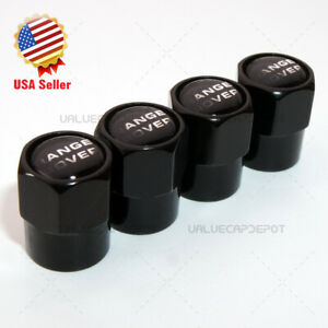 Hexagon Shape For Rr Logo Emblem Car Wheel Tire Air Valve Cap Stem Dust Cover