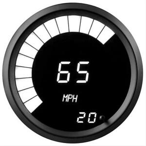 Summit Racing G2981 2w Speedometer Led 0 255 Mph 3 3 8in Digital Electrical Each