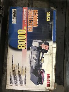 8000 Lb Winch Chicago Electric Power Tools Never Used New In Box