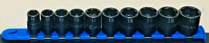 Matco Tools 3 8 Drive 6 Point Surface Drive 10mm 19mm Mechanic Lot New