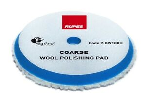 6 75 Rupes Blue Coarse Wool Cutting Polishing Pad For 6 Backing Plate