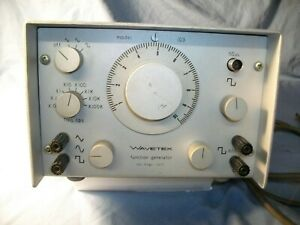 Wavetek 103 Function Generator Square triangle sine 008hz 1mhz