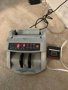 Money Cash Counting Bill Counter Bank Counterfeit Detector Uv mg Machine Nu Link