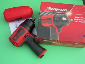 Snap On Pt850 Red 1 2 Drive Impact Air Wrench Gun Boot Pt 850 Ships Free New