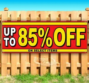 Up To 85 Off On Select Items Advertising Vinyl Banner Flag Sign Many Sizes Sale