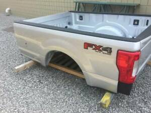 2017 Ford F250 Aluminum Truck Bed Take Off