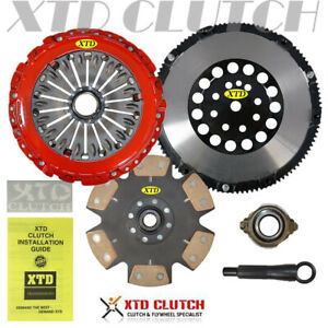 Amc Stage 4 Clutch Prolite Flywheel Kit Fits 2003 2008 Tiburon 2 7l