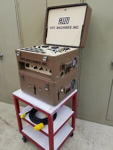 Arc Machines Inc Model 107 4 Orbital Welding Power Supply Cooler 115 Volt