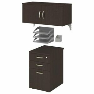 Office In An Hour Storage And Accessory Kit In Mocha Cherry