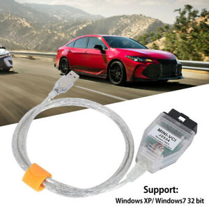 Mini Vci J2534 Obd2 Diagnostic Tool Cable For Toyota Lexus Scion Tis Techstream