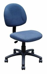 Boss Chair Boss Deluxe Posture Chair Burgundy Misc Mpn B315 by