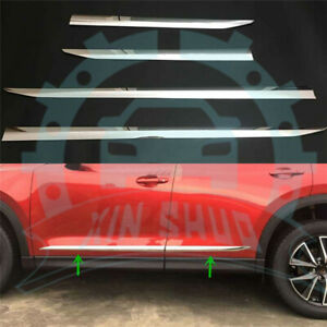 Side Door Body Trim Abs Chrome For Mazda Cx 5 2017 2018 Molding Accessories Ee49