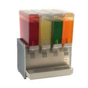 Grindmaster cecilware E49 4 Crathco Bubber Mini Pre mix Cold Beverage Dispenser