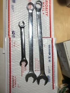 Mac And Matco Wrench Lot Huge 1 1 8 1 1 16 Standard Combination Flare Nut