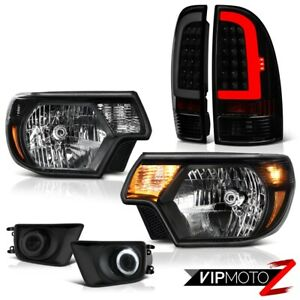 12 14 15 Toyota Tacoma Neon Tube Rear Projector Spot Head Lamps Replacement Set