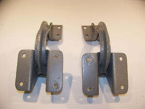 1937 Plymouth Coupe Trunk Lid Hinges Oem